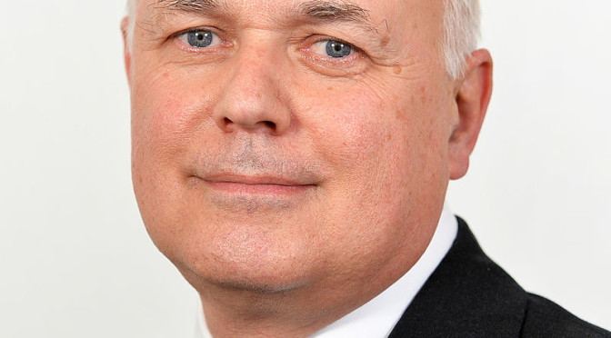 People thank me for stopping their benefits, says Iain Duncan Smith