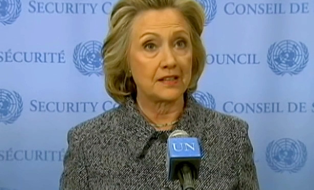 Clinton: electoral fraud is justified because it's 'my turn'