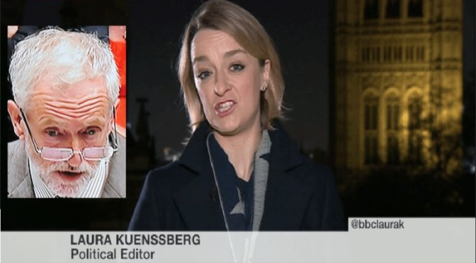 Poll: Should Laura Kuenssberg be sacked and prosecuted?