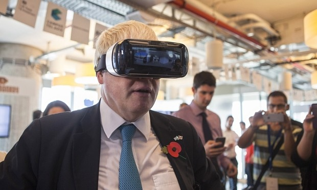 Brexiteers demand invention of virtual reality headset which superimposes white people over foreigners