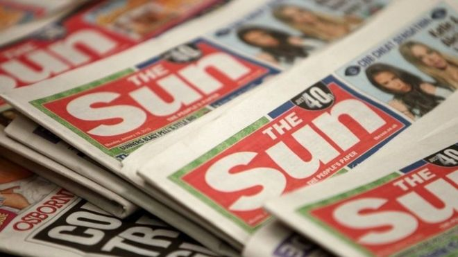 The Sun launches campaign for BBC to sack everyone who isn't a heartless bastard