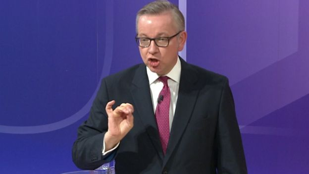Michael Gove announces 'passionate support' for staying in EU after watching Dunkirk
