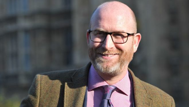 Paul Nuttall building time machine to go back and turn his lies into truth