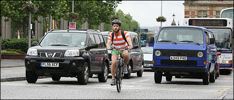 Cyclists are dangerous say people whose preferred mode of transport kills or injures 200,000 people a year