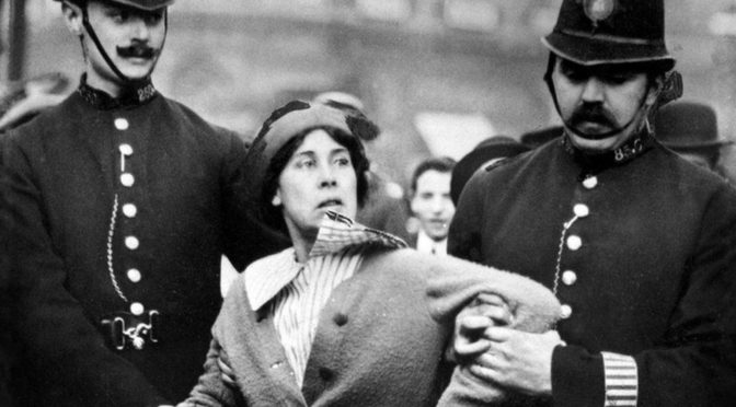 Suffragettes to be dug up and jailed under new anti protest laws, says Theresa May