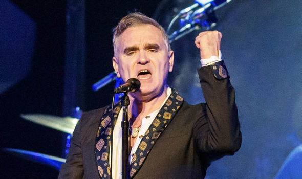 Heaven knows I'm fascist now, says Morrissey