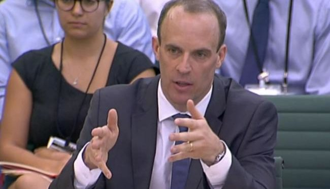 Brexit food shortages an opportunity for the poor to diet, says Dominic Raab
