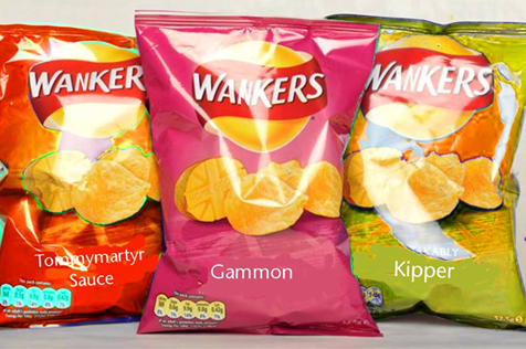"Walkers Crisps announce new ""Gammon"" flavour to appease Brexiters"