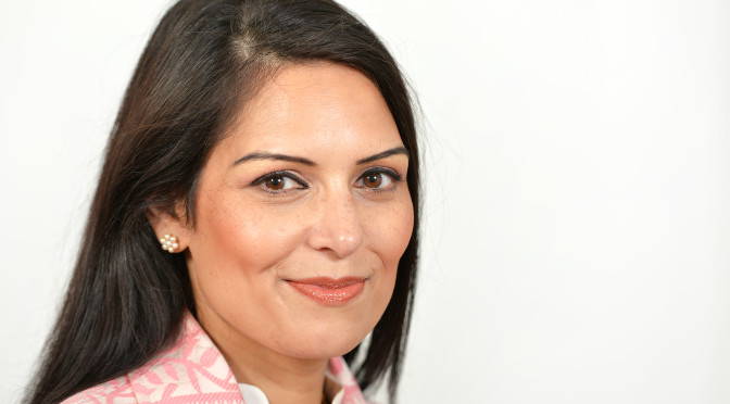 Priti Patel backs death penalty for murderers earning less than £100,000 a year