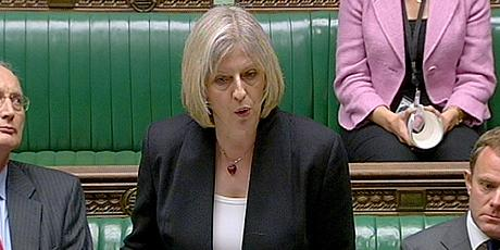 Theresa May in U-turn over nude PMQ appearance