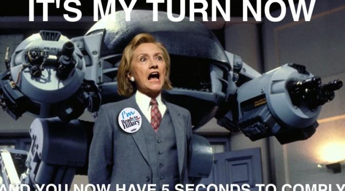 Google Deep Mind reveals Hillary is a robot