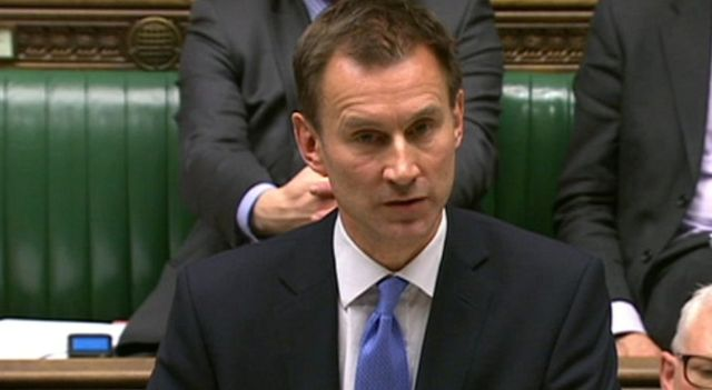 Jeremy Hunt 'living proof' body can survive with no brain, doctors say