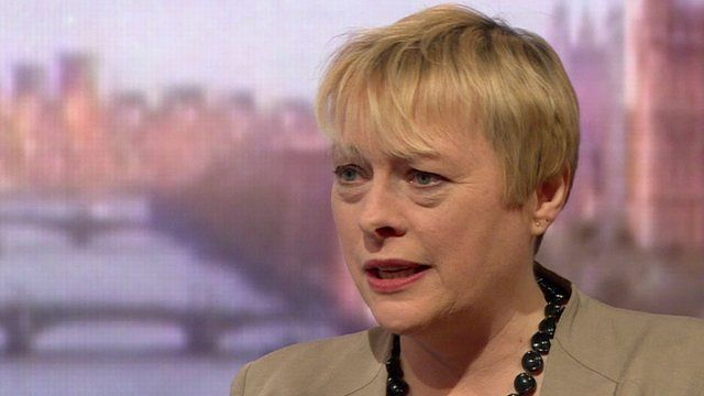 I can lead because I can lead, Angela Eagle insists