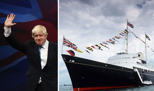 Building a massive ship will definitely solve all our Brexit problems, a tw*t has suggested