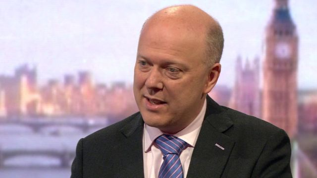 Chris Grayling proposes privatisation of cycle lanes
