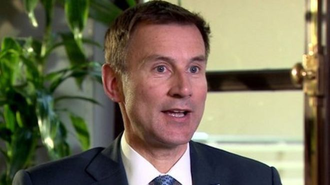 Jeremy Hunt blasts Labour for weaponising his deliberate mismanagement of NHS