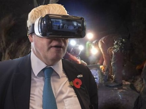 Cave divers find Tory party and are now trying to guide it to Brexit