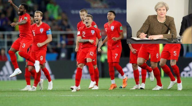 "Tories to immediately withdraw England from World Cup ""to respect referendum result"""
